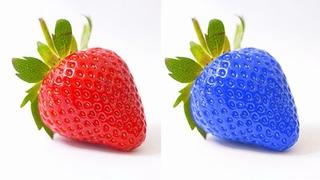 Изменить цвет объекта в фотошопе с помощью инструмента кисть