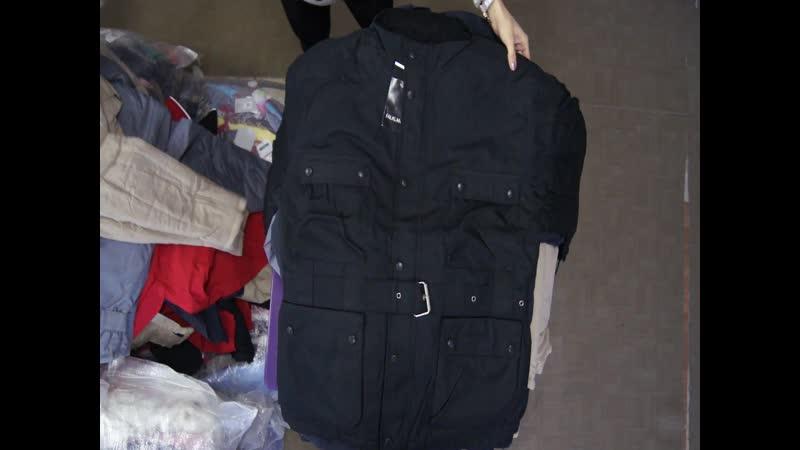 Акция-15%%% Куртки мужские-новые! Вес 30-31 кг! Цена 17-15%=14,45 евро/кг! С/С 1 ед=1000!