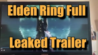 Elden Ring Full Leaked Trailer Footage 112 Seconds (720p, upscaled)