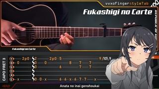 Seishun Buta Yarou wa Bunny Girl Senpai no Yume wo Minai - Fukashigi no Carte - Fingerstyle Guitar