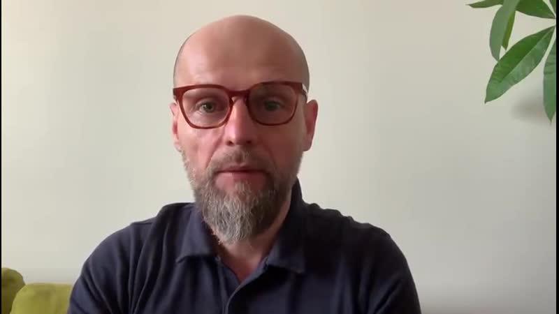 Обращение Ивана Вырыпаева в поддержку Алексея Навального