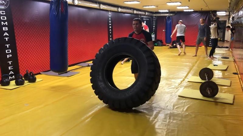 Кроссфит для бойцов смешанных единоборств Комплекс Упражнений для развития выносливости спортсмена