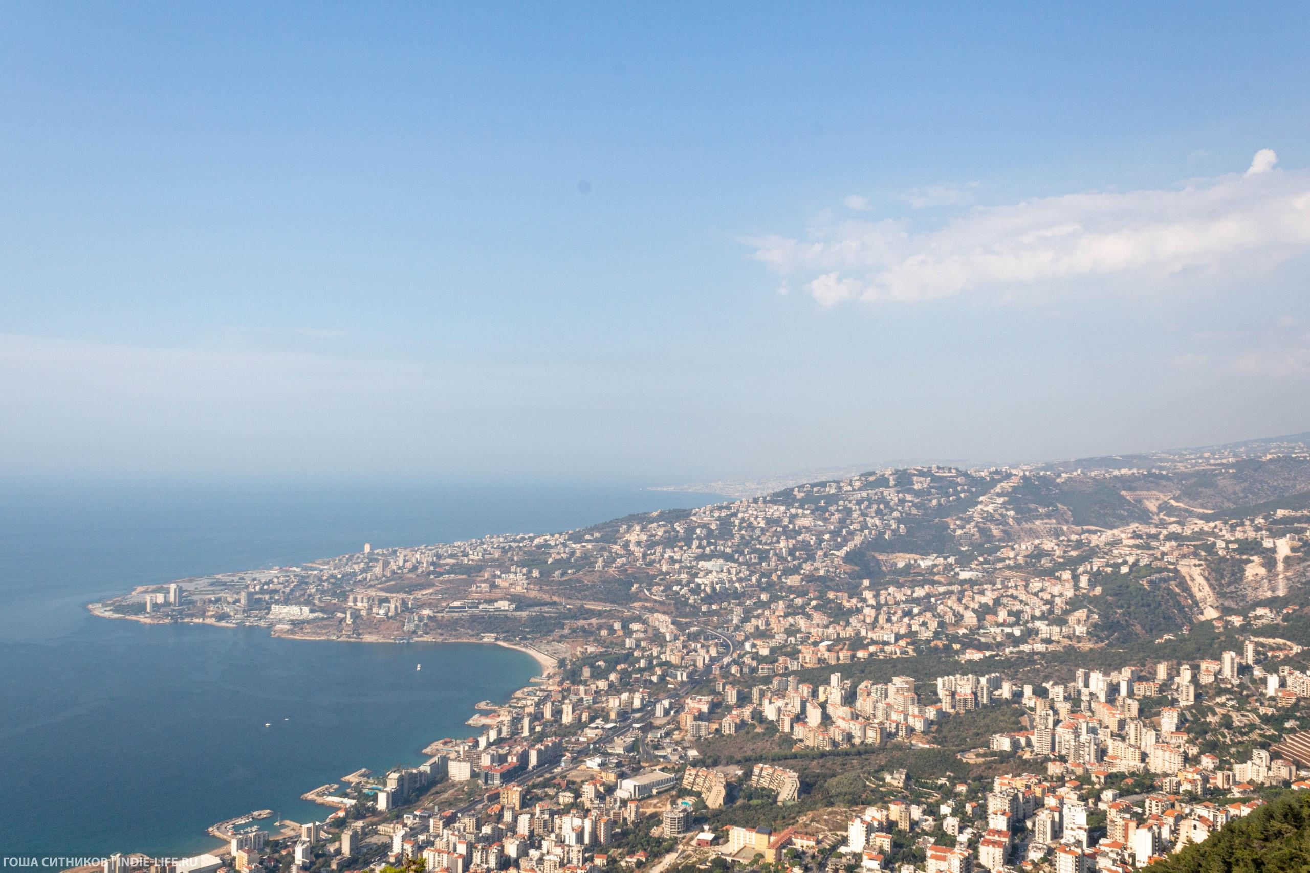 Ливан. Горы и море