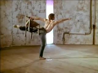 """Одноактный балет """"Юноша и смерть"""". Рудольф Нуреев и Zizi Jeanmaire"""