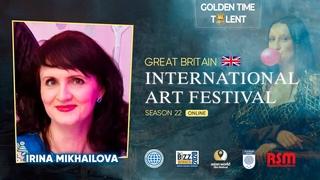 Golden Time Distant Festival   22 Season   Irina Mikhailova   GT22-1412-9351