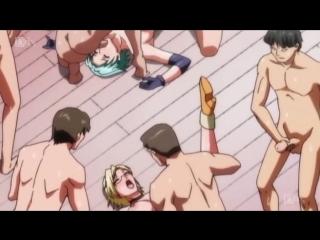 Secret place [ hentai хентай 18+ .netorare fighter yaricchingu! 3 [без цензуры ]