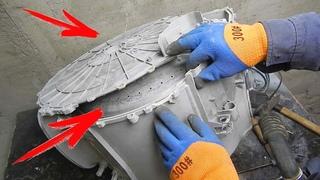 Как разобрать бак стиральной машины с вертикальной загрузкой. Whirlpool