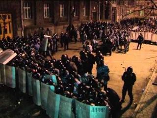 Провокация на Банковой: Беркут срывал удостоверение и бил журналистов в переулках