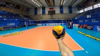 Волейбол от первого лица | VOLLEYBALL FIRST PERSON TRAINING LIBERO | ZENIT ST. PETERSBURG | 2021