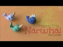 NARWHAL WHALE - Polymer Clay Charm - How To | SoCraftastic