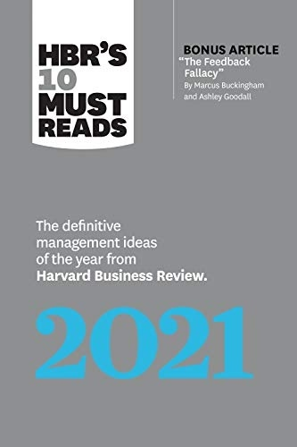 HBR s 10 Must Reads 2021