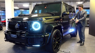 2021 Mercedes AMG G63 BRABUS 700    G Class FULL Review Wagon + Sound Exhaust Interior Exterior