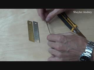 Линолеум, как сделать невидимый шов! Этому шву 9 лет!