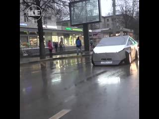 В Москве уже катается первый Tesla CyberTruck