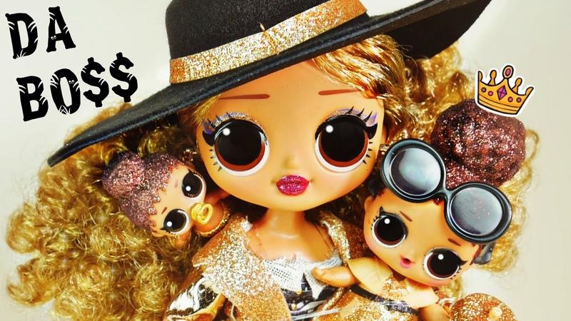 РОЛЕКС на руке Da BO$$ Ультра Богатая LOL Surprise O M G Boss 3 серия золотая Да Босс 👑 Обзор