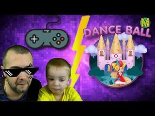 Новая игра для детей Лайк Настя, обзор. Миша с папой играют в игру от Настюши.