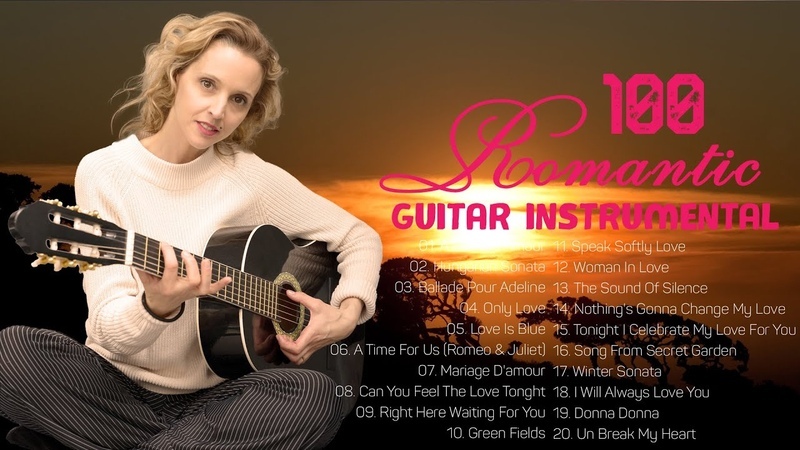 Greatest 100 Romantic Guitar Old Beautiful Love Songs 80s Relaxing English Love Songs Collection