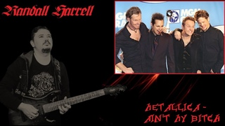 Metallica - Ain't My Bitch (cover by Randall Harrell)