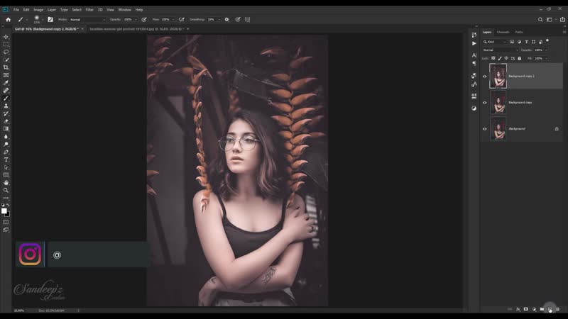 BROWN and WHITE Color Grading Effect in Photoshop CAMERA RAW FILTER Photosho