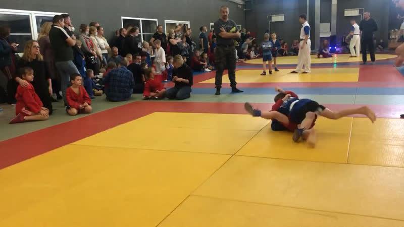 V открытый турнир по борьбе самбо в СКЕ Поединок