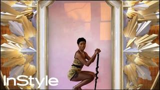 Keke Palmer | 2021 Golden Globes Elevator | InStyle | #Shorts