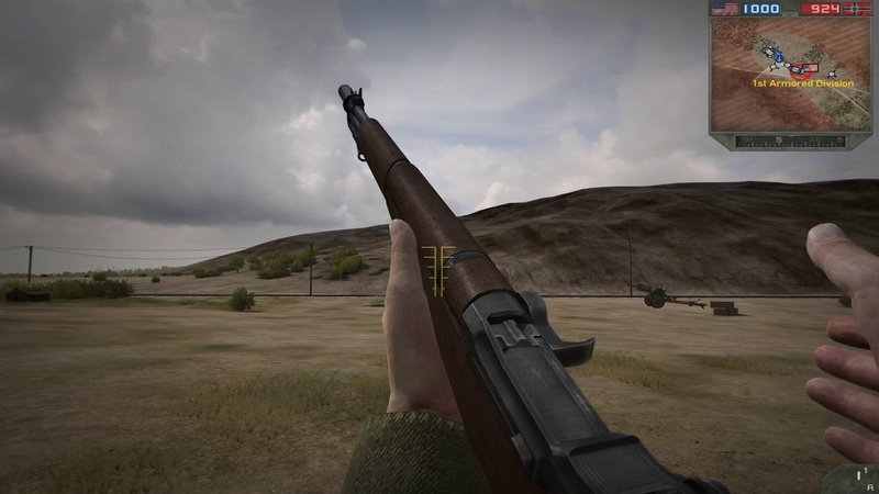Forgotten Hope 2: M1 Garand M7 grenade launcher Animated