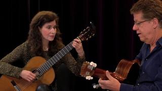 Sharon Isbin & Romero Lubambo play Jobim, Lauro & Barrios Mangoré duets