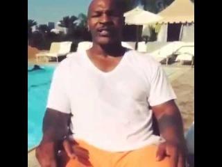 Тайсон принял эстафету/Mike Tyson ALS Ice Bucket Challenge