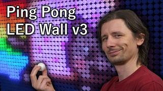 Ping Pong LED Wall v3