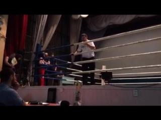 Соревнования в Балтае. Даннил Ульянов - синий угол