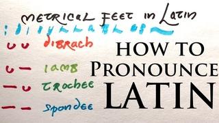 Latin Pronunciation: Disyllables | Metrical Feet