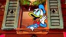 Крякляндия Дональда Дака Рождество с Микки Маусом Мультфильм Disney