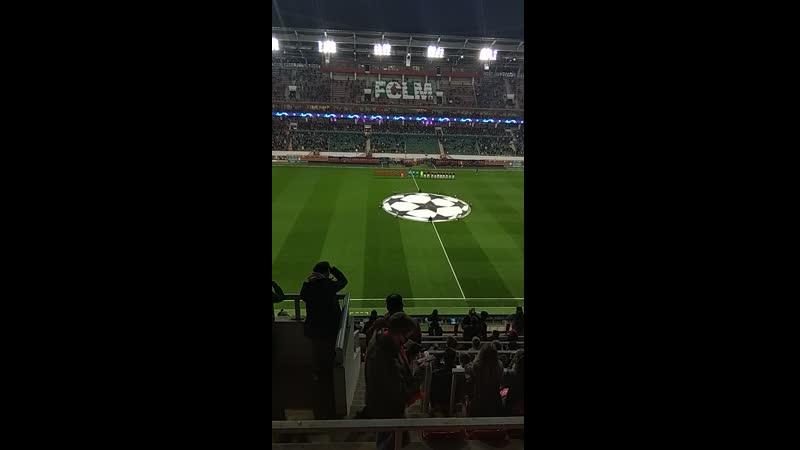 На матче Лиги Чемпионов Локомотив Бавария 27 10 2020