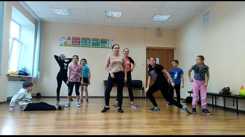 студия танца Адреналин - наши первые шаги)