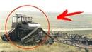 Колесно-гусеничный дизель-электрический турбоэлектротрактор ТЭТ-1000, трансформер из прошлого, из СССР.