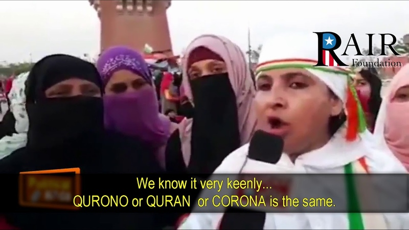 Coronavirus Jihad Muslims in India Defy Lockdown threaten CAA Supporters and Unbelievers