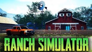 Ranch Simulator - Строим дом - Симулятор ранчо после обновы (стрим) #8