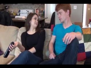 Брат с сестрой развлекаются пока родителей нет дома | taboo incest brother sister fuck inzest incezt инцест подростки табу