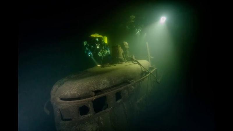 Уникальные кадры подводной съемки с места гибели героической «Щуки»