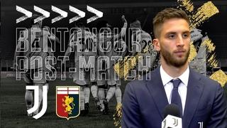 🎙 RODRIGO BENTANCUR INTERVISTA POST MATCH   Juventus 3-1 Genoa   Serie A