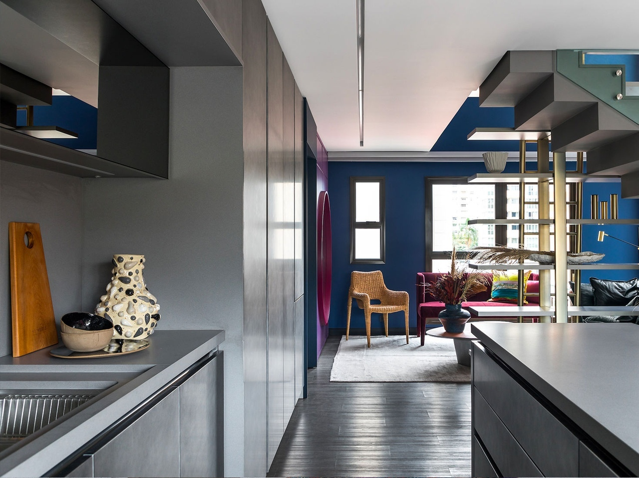 Квартира в Куритибе по проекту Talita Nogueira Arquitetura || 01