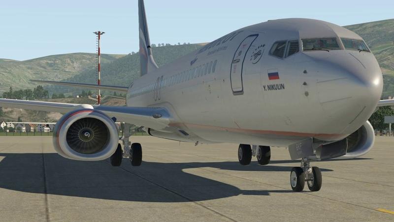 Симулятор: X-plane 11 Boeing 737-800 Рейс: Геленджик-Домодедово(URKG-UUDD)