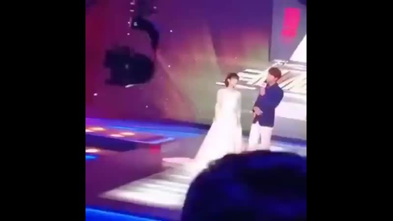 230819 shen yue and jerry yan bts the exchange luck
