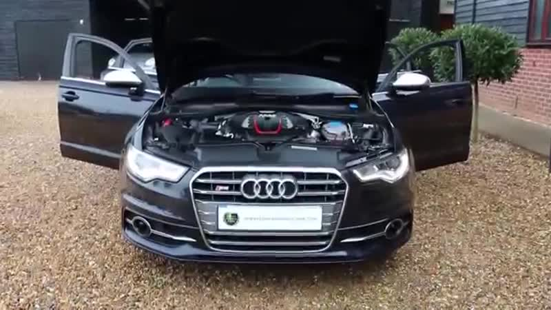 Audi S6 4.0 V8 TFSI Quattro Saloon 420 PS S Tronic Automatic in Moonlight Blue