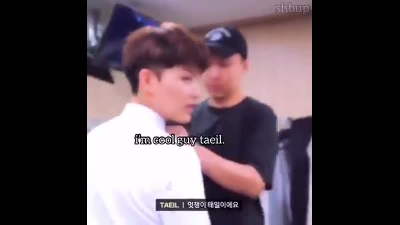 Taeyong asks taeil hyung to do something - taeil hyung does it