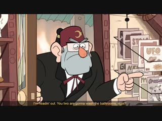 Gravity falls - to head out