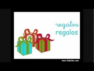 Felices fiestas. Flashcards en español.