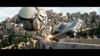 007's Aston Martin DB5 Arrives in Rocket League 4K (улучшено с помощью AI)