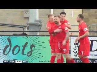 Connah's Quay - Alashkert (1:0) / Craig Curran goal