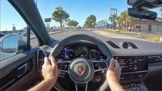 2020 Porsche Cayenne Coupe POV Test Drive (3D Audio)(ASMR)